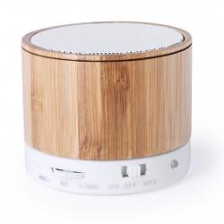 Mini enceinte Bluetooth® bambou Jikke