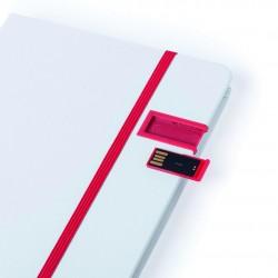 Carnet de notes A5 avec clé USB Jermy