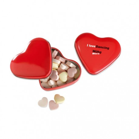 Boîte de bonbons coeur Greet