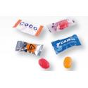 Bonbon papillote ou flow pack 2/3 g