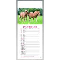 Calendrier à feuillets blocs mensuels Animaux