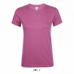 Tee-shirt femme semi-peigné 150 g blanc