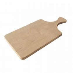 Planche en bois rectangle Zulma 10 x 35 cm