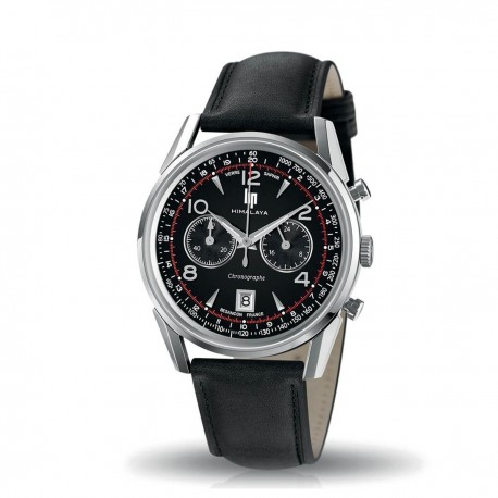 Montre cuir Lip Chrono Himalaya