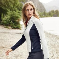 Veste stretch polaire femme 200 g