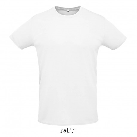 Tee-shirt respirant mixte 130 g blanc