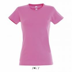 Tee-shirt femme semi-peigné 190 g couleur