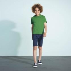 Tee-shirt enfant semi-peigné 190 g blanc