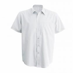 Chemise femme ou homme polycoton 110 g blanche