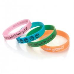 Bracelet silicone Eivor sérigraphie 1 couleur