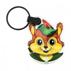 Porte-clés Pvc création avec lampe Rakel jusqu'à 7 cm