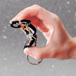 Porte-clés création pvc souple 2D Gunnar jusqu'à 6 cm