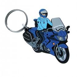 Porte-clés création pvc souple 2D Gunnar jusqu'à 7 cm
