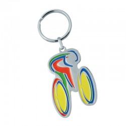 Porte-clés métal laqué en creux Bertil jusqu'à 5,1 cm