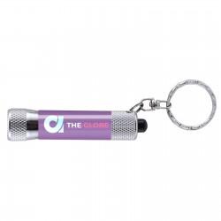 Porte-clés lampe brillant Néa