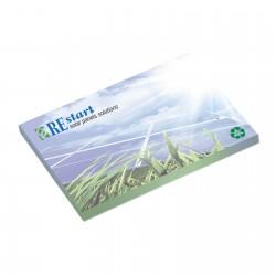 Bloc papier repositionnable 10,1 x 7,5 cm 25 feuillets
