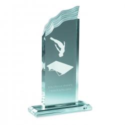 Trophée acryglass Yrsa 23 cm