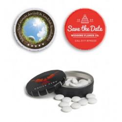 Boîte de bonbons Clic-Clac marquage 1 à 2 couleurs