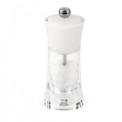 Moulin sel 14 cm Molène blanc