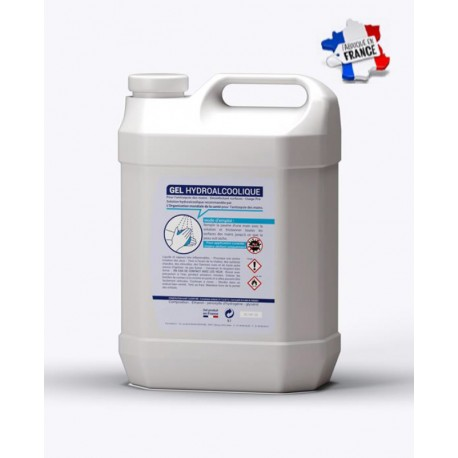 Bidon de lotion hydroalcoolique 5 l