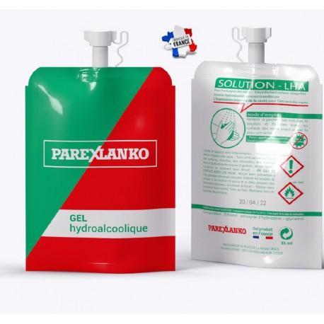 Pochon 25ml personnalisable de lotion hydroalcoolique