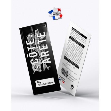 Sachet 1.5ml personnalisable de lotion hydroalcoolique