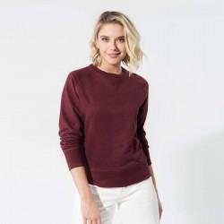 Sweat-shirt Bio femme 300 g couleur chinée