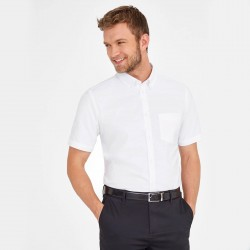 Chemise oxford homme polycoton 135 g