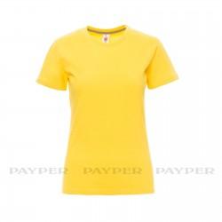 Tee-shirt femme peigné 190 g couleur
