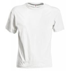 Tee-shirt homme peigné 150 g blanc