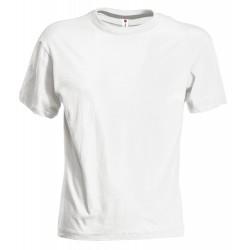 Tee-shirt enfant peigné 150 g blanc