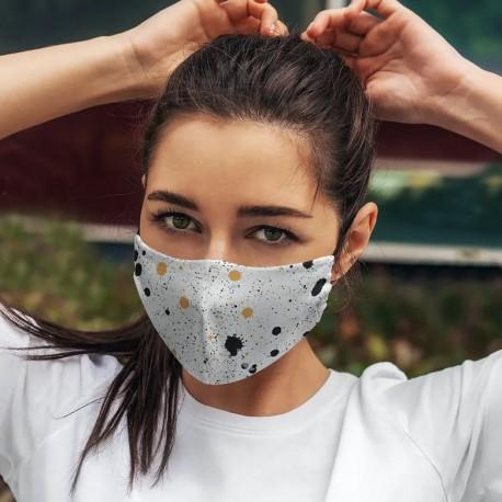 Masque tissu forme pirate