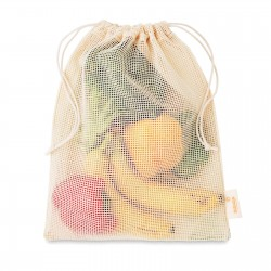 Sac filet réutilisable coton Shoppi 25 x 30 cm