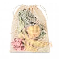 Sac filet réutilisable coton Shoppi 25 x 30 cm