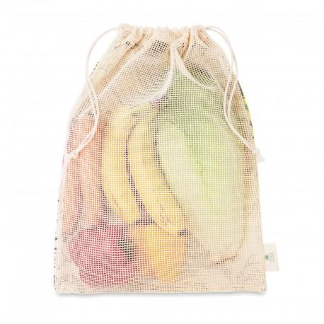 Sac filet réutilisable coton Shoppi 40 x 30 cm