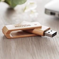 Clé USB Twister bambou
