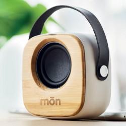 Enceinte Bluetooth® bambou Bane