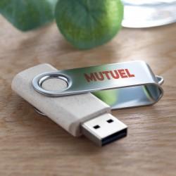 Clé USB Twister paille de blé