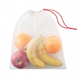 Ensemble de 3 sacs à provision filet RPET Vegga