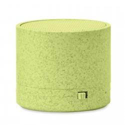 Mini enceinte Bluetooth® paille de blé Roundy