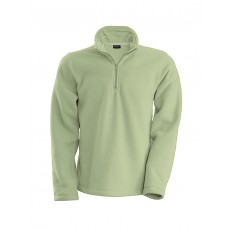 Sweat-shirt col zippé micropolaire homme 300 g