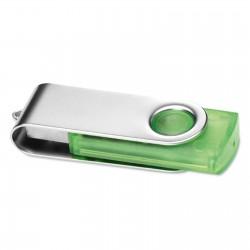 Clé USB Twister corps transparent