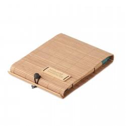 Carnet de notes bambou Santia A6