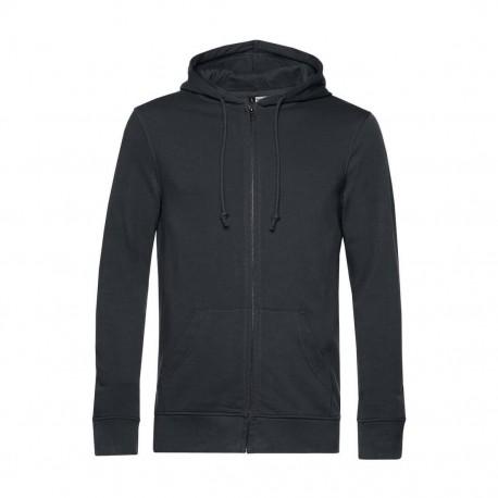 Vest à capuche homme organic 280 g XS
