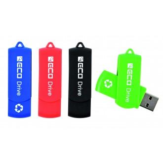 Clé USB Twister plastique recyclé