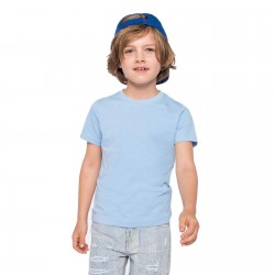 Tee-shirt enfant Bio 140 g couleur