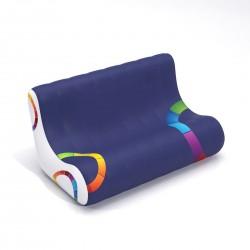 AIRSOFA structure gonflable PVC souple 2 pl. 88 x 75 x 120 cm