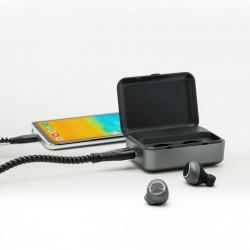 Écouteurs Bluetooth® / batterie de secours Nakeen 2200 mAh