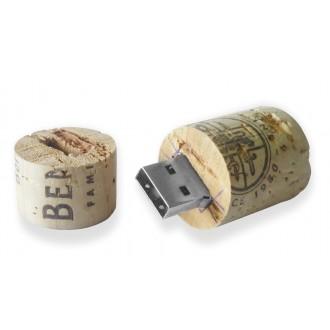 Clé USB liège bouchon