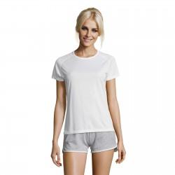 Tee-shirt respirant femme 140 g blanc